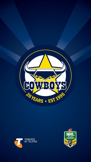 ... Nq Cowboys Iphone Wallpaper by Official 2015 Queensland Cowboys On The App Store ...