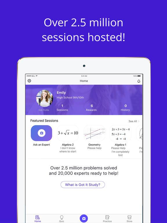 facebook homework app