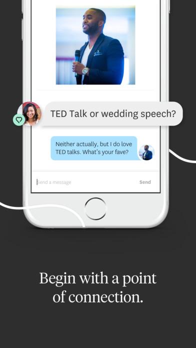 hinge dating application