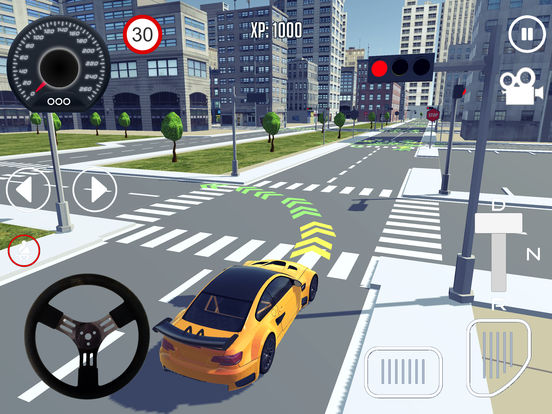Screenshot 1 Driving School 3D