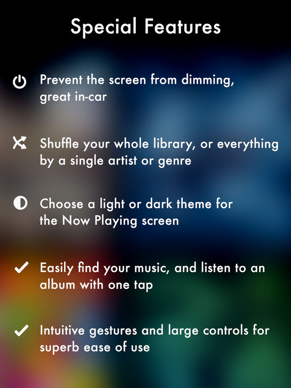 Screenshots for Harken Music Player for iPad, iPhone and iPod