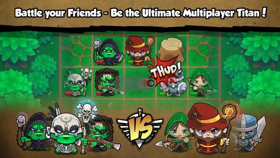 Screenshot 4 Pocket Titans