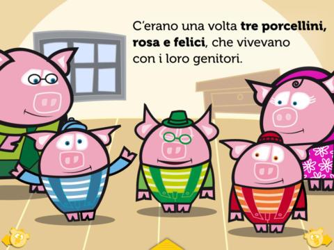 Tre porcellini hd. gioco-storia di itbook
