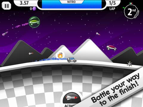 Screenshot 2 Lunar Racer