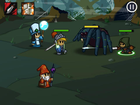 Battleheart iOS Screenshots
