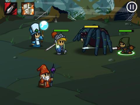 Battleheart iOS Screenshots