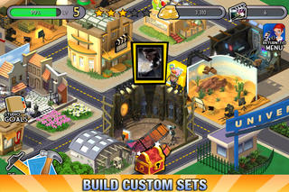 Universal Movie Tycoon iPhone screenshot 2