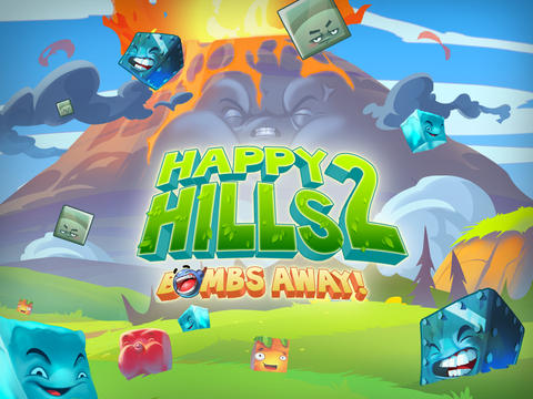 Happy Hills 2: Bombs Away! iOS Screenshots