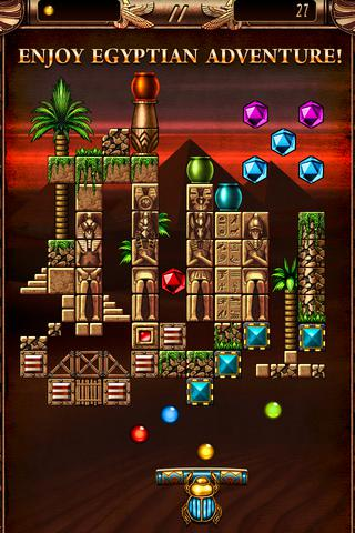 Blocks of Pyramid Breaker 2 iOS Screenshots