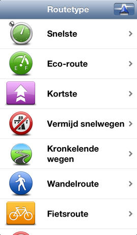 TomTom Europa iPhone screenshot 4