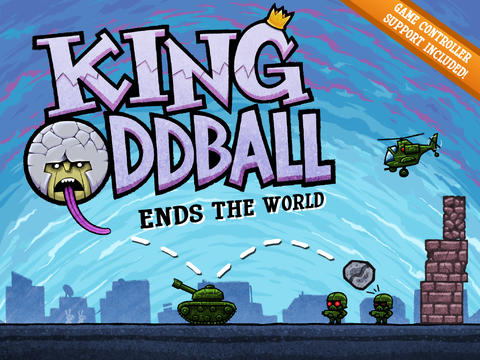 King Oddball iOS Screenshots