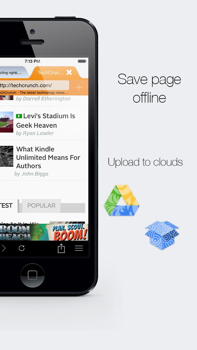 Offline Webs iPhone