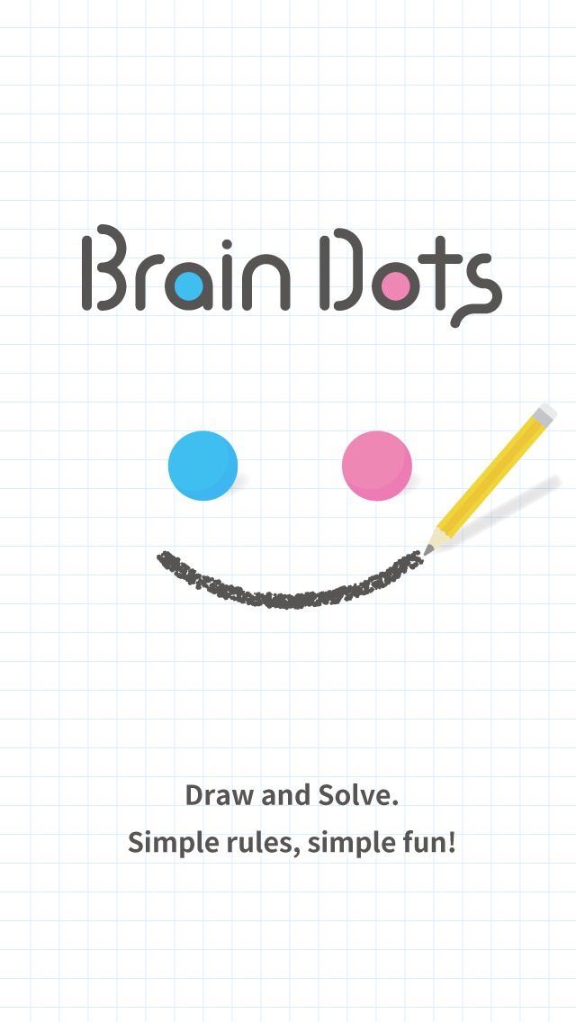 Brain Dots - Draw and solve! Brain Training Game iOS Screenshots