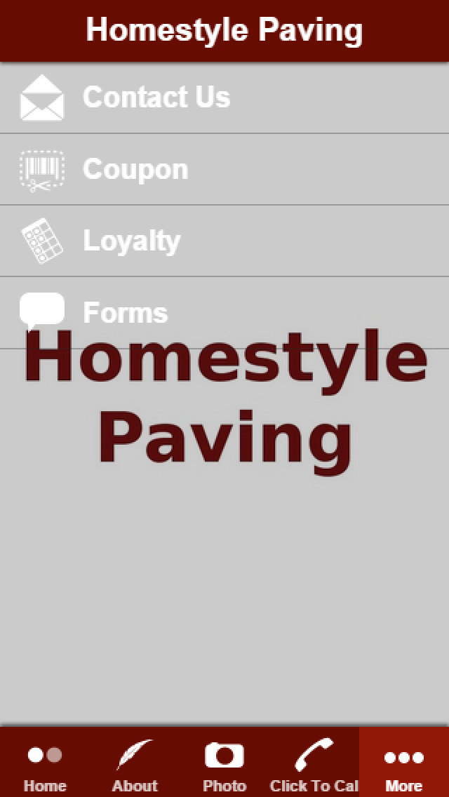 Homestyle Paving App Insight Download