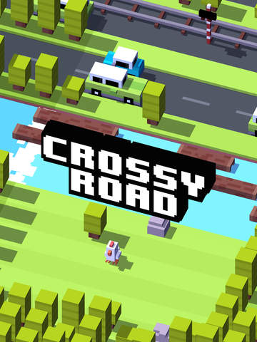 Screenshot 1 Crossy Road
