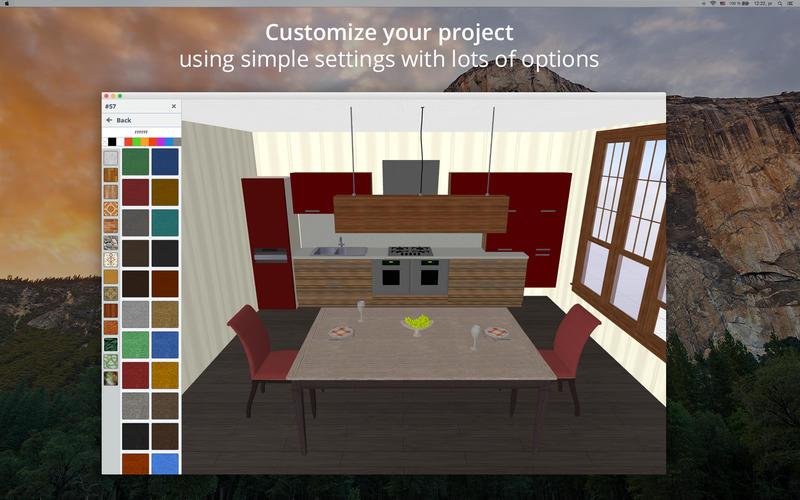 Beappy Kitchen Design 5d Kitchen Plans Interior Design And Decor In 2d 3d Planner 5d