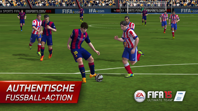 FIFA 15 Ultimate Team by EA SPORTS iOS