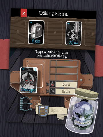 Card Crawl iPad