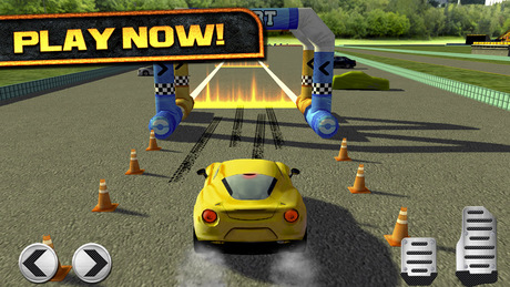 3D Real Test Drive Racing Parking Game - Auto Race Spelletjes Gratis iPhone app afbeelding 5
