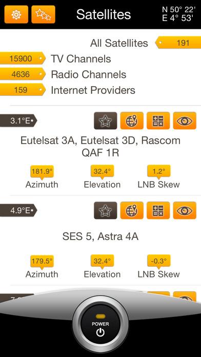 SatFinder Pro Screenshot