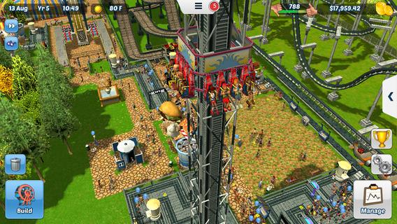 Screenshot 2 RollerCoaster Tycoon® 3
