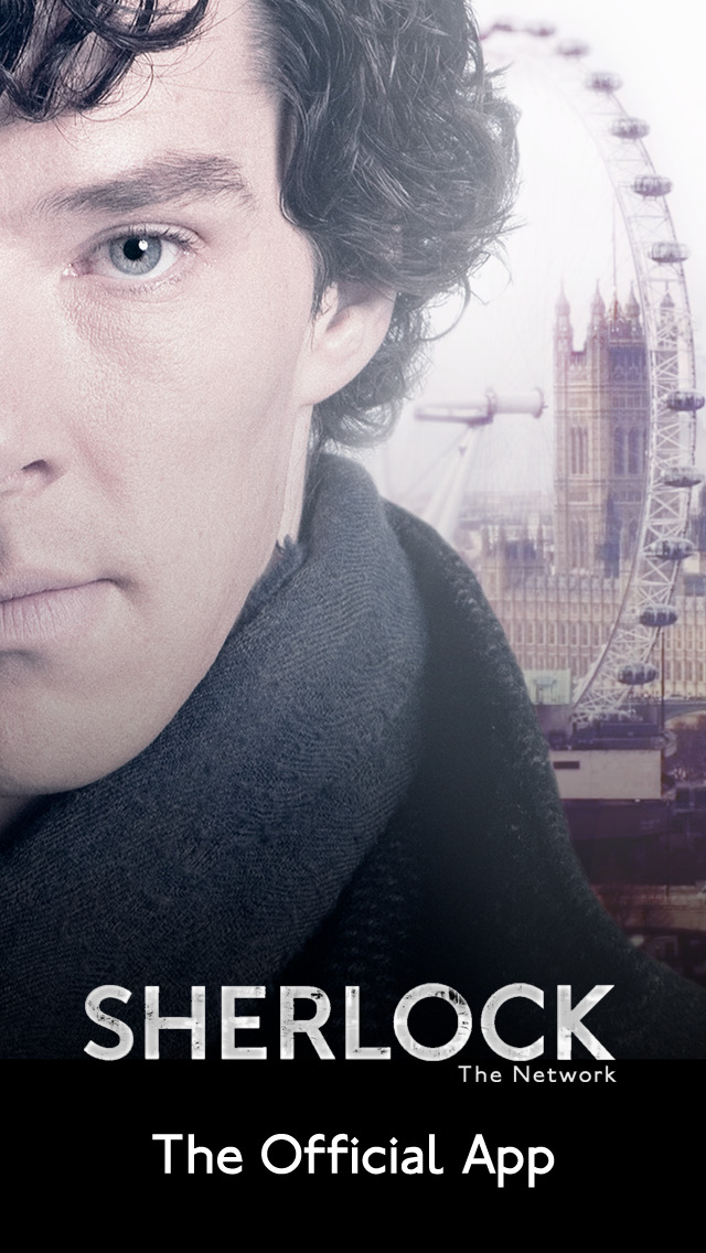 Sherlock: The Network. Official App of the hit TV detective series iOS Screenshots
