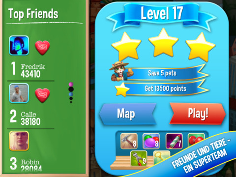 Screenshot 4 Pet Rescue Saga