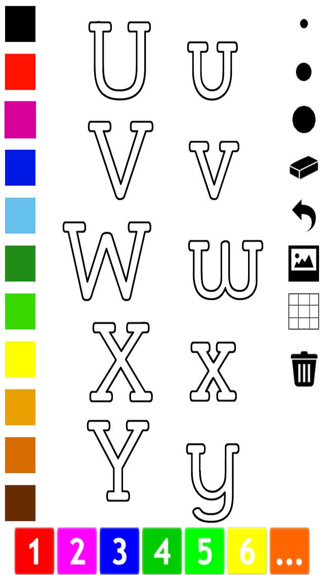 download Abc Livre à colorier : Apprendre à écrire l'alphabet en anglais apps 4