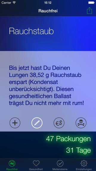 Rauchfrei Pro Screenshot