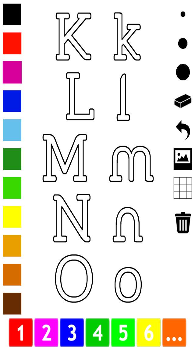 download Abc Livre à colorier : Apprendre à écrire l'alphabet en anglais apps 0