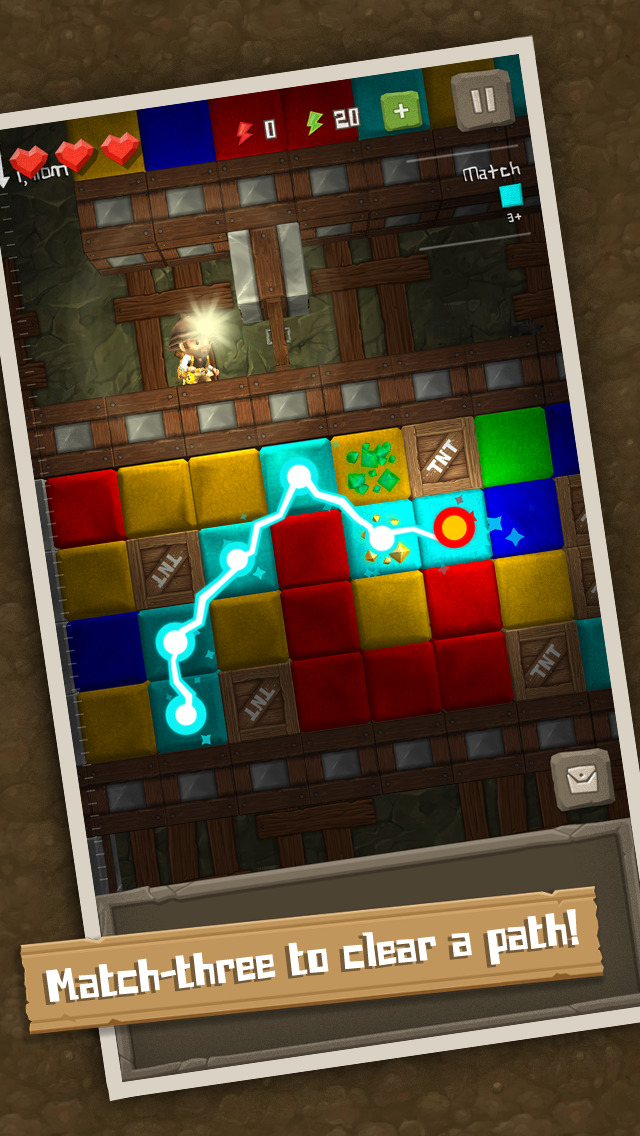 Puzzle to the Center of the Earth iOS Screenshots