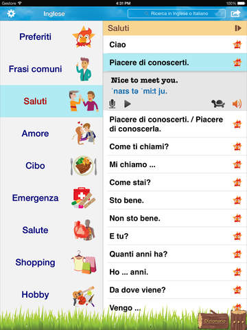 Frasi comuni italiano cinese