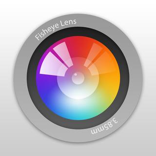 Fisheye lens retro style fisheye camera para iphone for Fish eye lense app