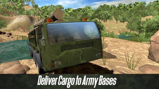 Army Truck Offroad Simulator 3D Full - Drive military truck! Screenshots