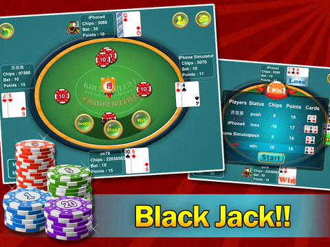 black jack points