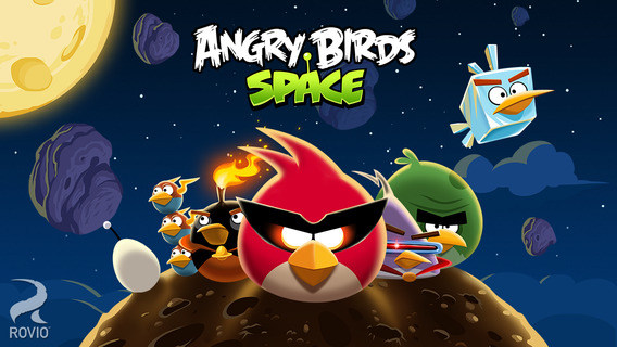 Screenshot 1 Angry Birds Space