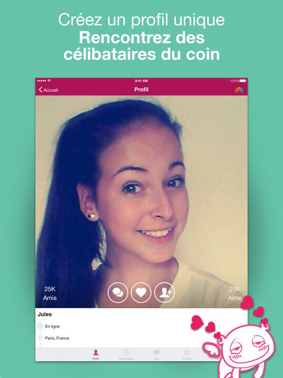 Application ipad site de rencontre