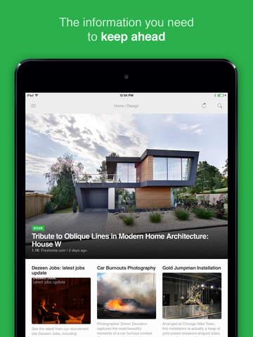 Feedly - your work newsfeed Screenshot