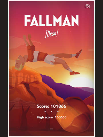 FALLMAN – Super Ridiculous Trampoline Jumping iPad