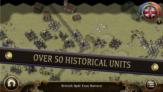 Screenshot 3 Peninsular War Battles