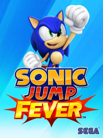 Sonic Jump Fever iOS Screenshots