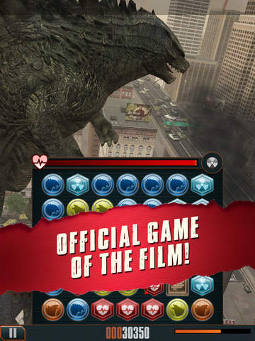 Godzilla - Smash3 iOS Screenshots