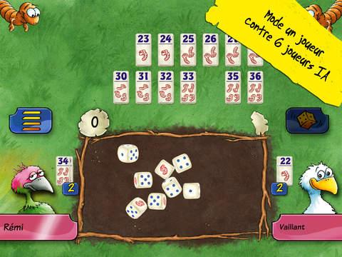 Pickomino - le jeu de dés de Reiner Knizia iPad