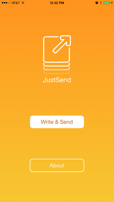 JustSend - Email without the Inbox Screenshot