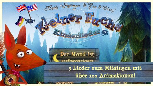 Kleiner Fuchs Kinderlieder - Liederbuch für Kinder und Kleinkinder Screenshot