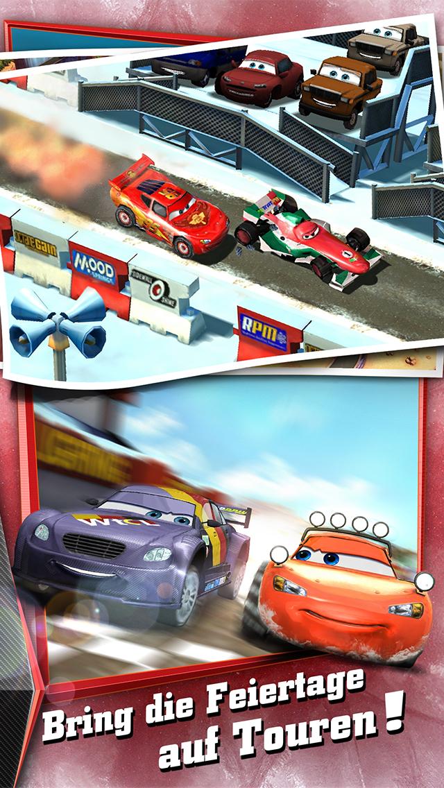 Cars - Schnell wie der Blitz iOS Screenshots