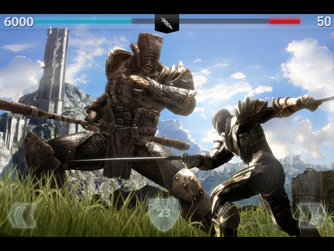 Infinity Blade II iOS Screenshots
