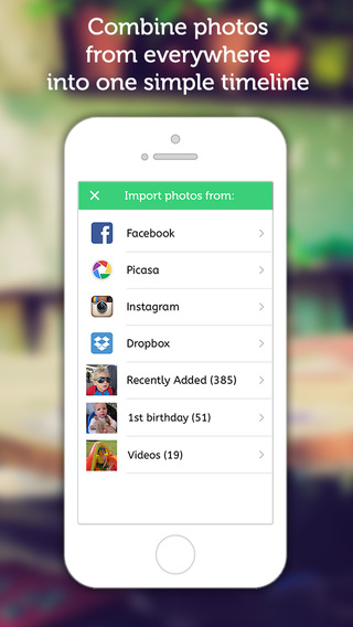 Lifecake - Share your baby photo album with family on the App Store