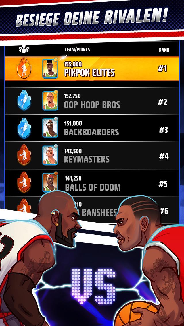 Screenshot 5 Rival Stars Basketball