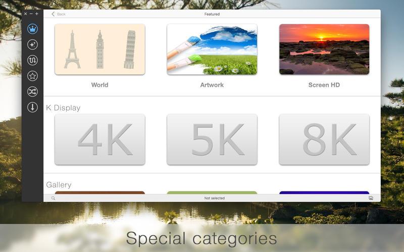 uDesktop NEXT - vast wallpaper collection Screenshots
